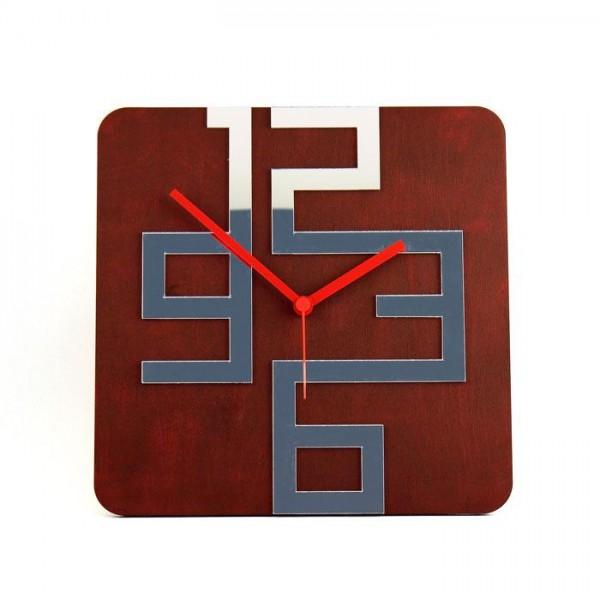 """Stenska ura """"Ulica"""", 30 x 30 cm"""