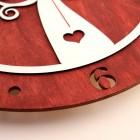 """Stenska ura """"Hrastnik"""", premer 30 cm"""