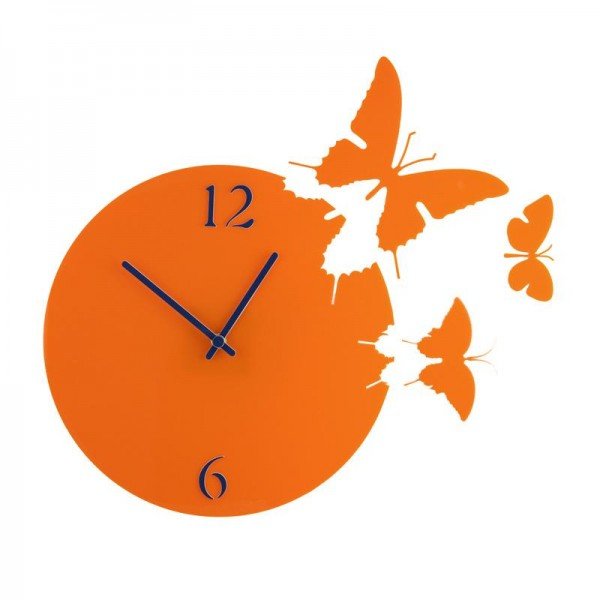 "Stenska ura ""Metulje"", premer 29 cm"