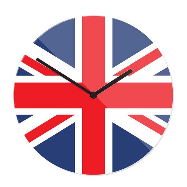 "Stenska ura ""Velika Britanija"", premer 30 cm"