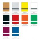 Hišna številka v različnih barvah