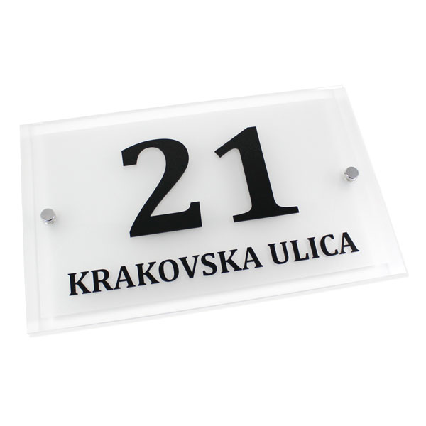Hišna tablica za naslov
