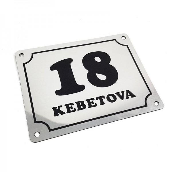 Hišna številka in naslov